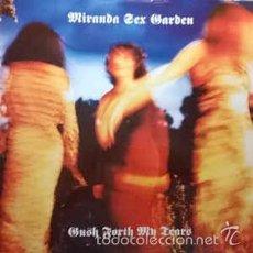 Discos de vinilo: MIRANDA SEX GARDEN - GUSH FORTH MY TEARS (SANNI RECORDS,12MUTE123, 12'', MAXI, 1991) PRECINTADO! . Lote 57905760
