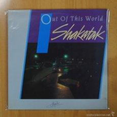 Discos de vinilo: SHAKATAK - OUT OF THIS WORLD - LP. Lote 81274710