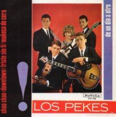 Discos de vinilo: LOS PEKES, EP, CHAO, CHAO + 3, AÑO 1965. Lote 57913946