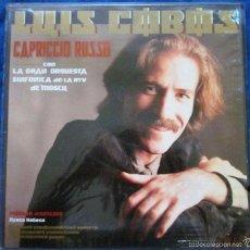 Discos de vinilo: LUIS COBOS CAPRICCIO RUSSO. Lote 57914027