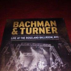Discos de vinilo: BACHMAN & TURNER LIVE AT THE ROSELAND, NYC DOBLE VINILO NUEVO.. Lote 57915008