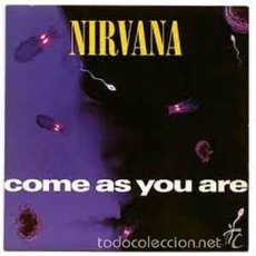 Discos de vinilo: NIRVANA - COME AS YOU ARE (DGC, GET 21699, 12'', MAXI, 1992). Lote 57920160