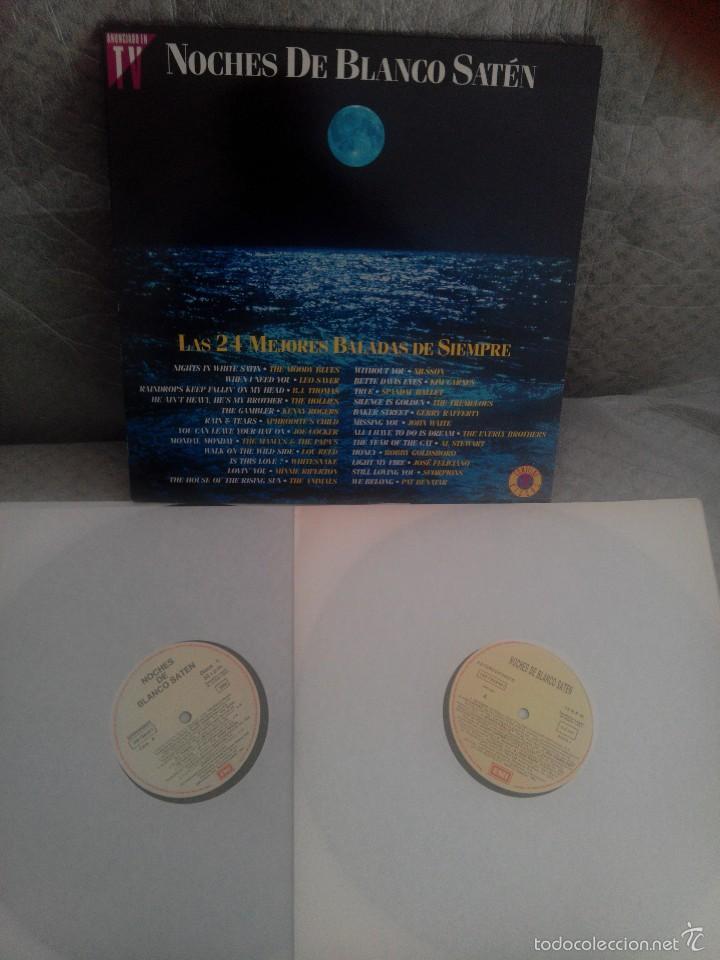 Discos de vinilo: LOTE AÑOS REBELDES 70' LIBRO + VINILOS BEATLES, STONE, BEE GEES + regalo cassette y poster - Foto 3 - 57922724