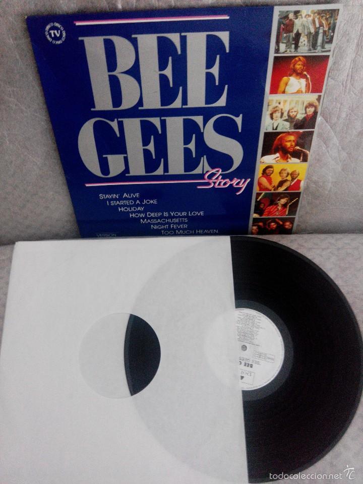 Discos de vinilo: LOTE AÑOS REBELDES 70' LIBRO + VINILOS BEATLES, STONE, BEE GEES + regalo cassette y poster - Foto 4 - 57922724