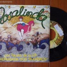 Discos de vinilo: FAUSTO, SE TU FORES VER O MAR ROSALINDA (ZAFIRO 1978) SINGLE ESPAÑA - MADRUGADA DOS TRAPEIROS. Lote 57926792