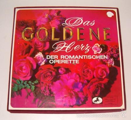 VV. AA. DAS GOLDENE HERZ DER ROMANTISCEHEN OPERETTE. RMT75536. (Música - Discos - LP Vinilo - Clásica, Ópera, Zarzuela y Marchas)