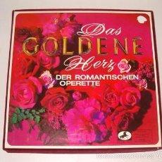 Discos de vinilo: VV. AA. DAS GOLDENE HERZ DER ROMANTISCEHEN OPERETTE. RMT75536. . Lote 57929273