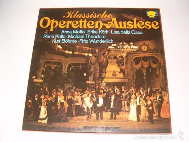 VV. AA. KLASSISCHE OPERETTEN-AUSLESE. RMT75537. (Música - Discos - LP Vinilo - Clásica, Ópera, Zarzuela y Marchas)