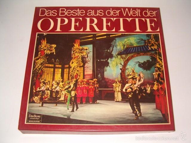 VV. AA. DAS BESTE AUS DER WELT DER OPERETTE. RMT75538. (Música - Discos - LP Vinilo - Clásica, Ópera, Zarzuela y Marchas)