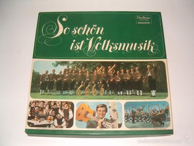 VV. AA. SO SCHÖN IST VOLKSMUSIK. RMT75539. (Música - Discos - LP Vinilo - Otros estilos)