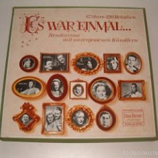 Discos de vinilo: VV. AA. ES WAR EINMAL… RENDEZVOUS MIT UNVERGESSENEN KÜNSTLERN. RMT75540. . Lote 57929322