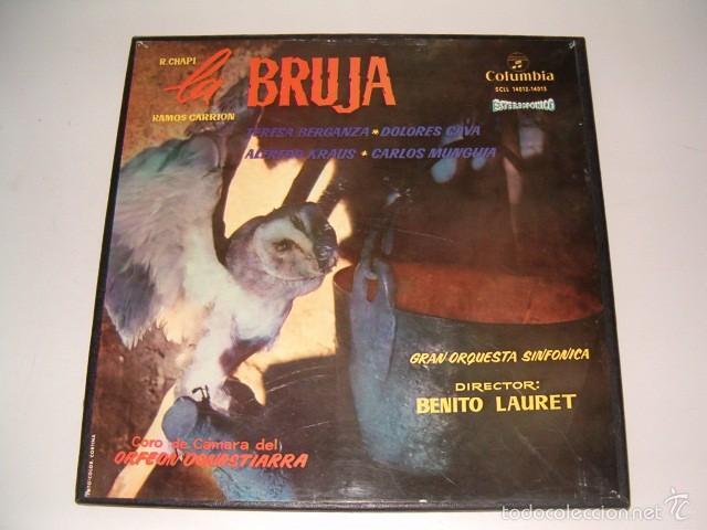 RAMOS CARRIÓN. LA BRUJA. RMT75544. (Música - Discos - LP Vinilo - Clásica, Ópera, Zarzuela y Marchas)
