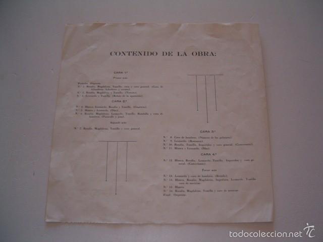 Discos de vinilo: RAMOS CARRIÓN. La Bruja. RMT75544. - Foto 2 - 57929381