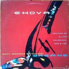 Discos de vinilo: EKOVA : SOFT BREEZE [FRA 1999] 12'. Lote 55717940
