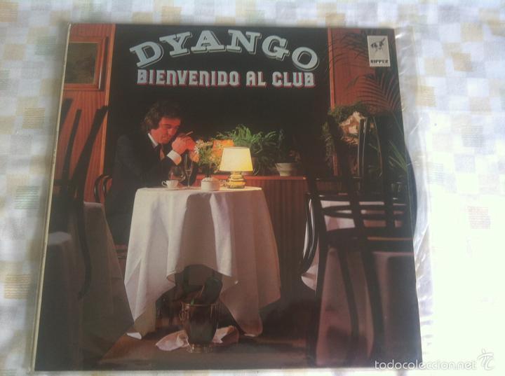 LP DYANGO-BIENVENIDO AL CLUB (Música - Discos - LP Vinilo - Solistas Españoles de los 70 a la actualidad)