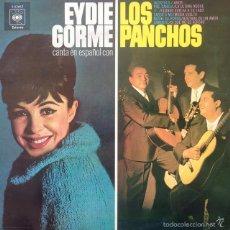 Discos de vinilo: EYDIE GORME Y LOS PANCHOS - EYDIE GORME CANTA EN ESPAÑOL CON LOS PANCHOS . LP . 1970 CBS. Lote 57932211