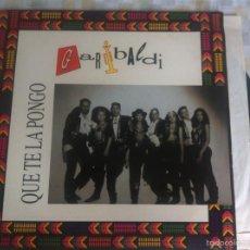 Discos de vinilo: LP GARIBALDI-QUE TE LA PONGO. Lote 57932494