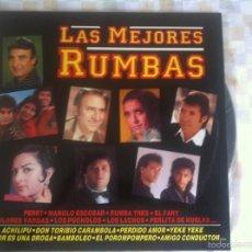 Discos de vinilo: LP LAS MEJORES RUMBAS-VARIOS. Lote 57932740