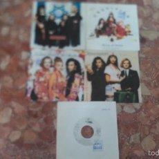 Discos de vinilo: LOTE DE 5 SINGLE ARMY OF LOVERS. Lote 57933355