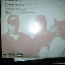 Discos de vinilo: EAZY E - JUST TAH LET U KNOW (EPIC, RUTHLESS RECORDS). Lote 57933441