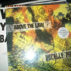 Discos de vinilo: ABOVE THE LAW - VOCALLY PIMPIN' ( 1991 EP) (RUTHLESS RECORDS, EPIC). Lote 57934556