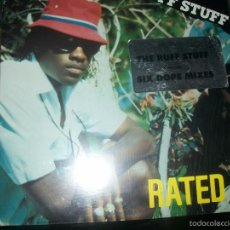 Discos de vinilo: RATED X - THE RUFF STUFF (TANDEM RECORDS) RAP. Lote 57934614