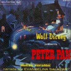 Discos de vinilo: PETER PAN -- SINGLE. Lote 57935650