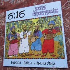 Discos de vinilo: 6:16- LP VINILO- TITULO MUSICA PARA CAMALEONES- CON 7 TEMAS- DEL 86-CON ENCARTES- NUEVO. Lote 54310828