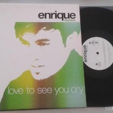 Discos de vinilo: ENRIQUE IGLESIAS - LOVE TO SEE YOU CRY. Lote 57940359