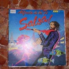 Discos de vinilo: DISCO SINGLE ALFREDO DE LA FE SALSA. Lote 57940490