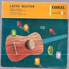 Discos de vinilo: SINGLE. LATIN GUITAR. SIBONEY. VERADERO. LA ESTRELLITA. SAMBA SUD. LAURINDO ALMEIDA. CORAL.. Lote 57945534