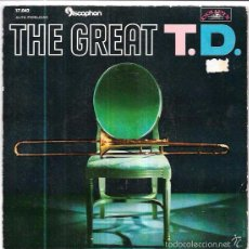 Discos de vinilo: SINGLE. THE GREAT. T.D. TOMMY DORSEY Y SU ORQUESTA.. Lote 57946294