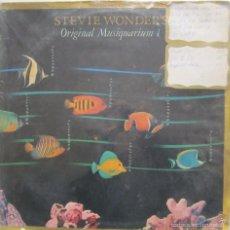 Discos de vinilo: VINILO 2 LP STEVE WONDER ''ORIGINAL MUSIQUARIUM'' 1972 - 1982. Lote 57946767