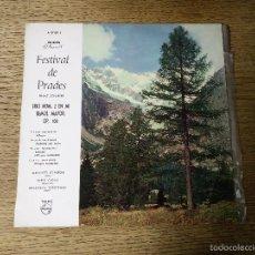 Discos de vinilo: FESTIVAL DE PRADES FRANZ SCHUBERT PHILIPS. Lote 57947511