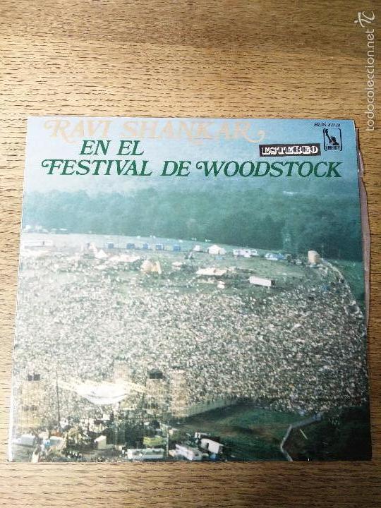 RAVY SHANKAR EN EL FESTIVAL DE WOODSTOCK LIBERTY (Música - Discos - LP Vinilo - Otros Festivales de la Canción)