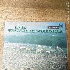 Discos de vinil: RAVY SHANKAR EN EL FESTIVAL DE WOODSTOCK LIBERTY. Lote 57947787