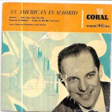 Discos de vinilo: SINGLE. AN AMERICAN IN MADRID. LARRY SONN HIS ORCHESTRA AND CHORUS. . Lote 57949904