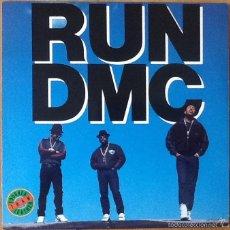 Discos de vinilo: RUN DMC : TOUGHER THAN LEATHER [USA 1988] LP/1ST EDITION. Lote 56550642