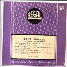 Discos de vinilo: SINGLE. FRANK SINATRA. ACOMP. ORQUESTA - DIR. AXEL STORDAHL. . Lote 57953676