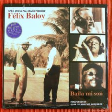 Discos de vinilo: AFRO-CUBAN ALL STARS PRESENT FELIX BALOY - BAILA MI SON 180G LP. Lote 52389863