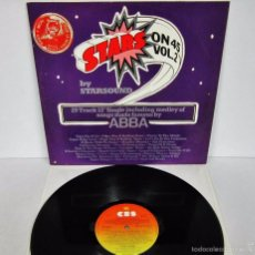Discos de vinilo: STARS ON 45 VOL 2 BY STARSOUND - ABBA / ROLLING STONES - MX - CBS 1981 UK RARE. Lote 57956238