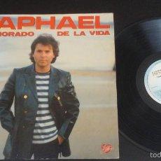 Discos de vinilo: RAPHAEL - ENAMORADO DE LA VIDA - LP RARA EDICIÓN DE VENEZUELA. Lote 57958840