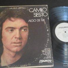 Discos de vinilo: CAMILO SESTO - ALGO DE MI LP RARA EDICIÓN USA. Lote 57959136