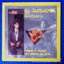 Discos de vinilo: DUQUENDE Y MANZANITA - PASO A PASO. Lote 57959291