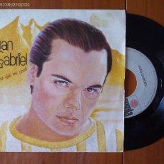 Discos de vinilo: JUAN GABRIEL, YO NO SE QUE ME PASO (ARIOLA) SINGLE ESPAÑA. Lote 57959723