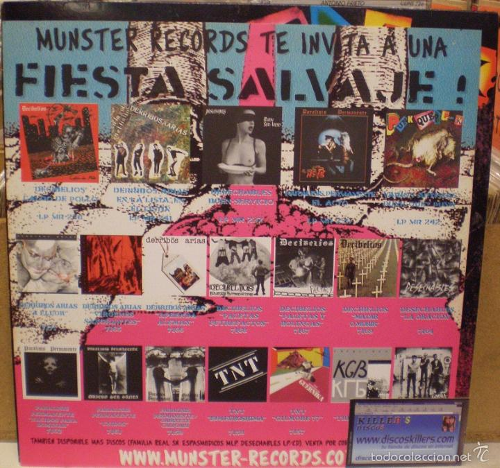 Discos de vinilo: Punk Que? Punk - Munster Records - MR 242 - Incluye la hoja interior - Foto 3 - 51120384