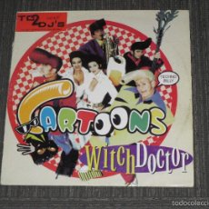 Discos de vinilo: CARTOONS - WITCH DOCTOR - MAXI - MADE IN ITALY - EMI - 3 TEMAS - IBL -. Lote 57969701