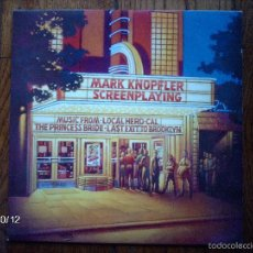 Discos de vinilo: MARK KNOPFLER ( DIRE STRAITS ) - SCREENPLAYING. Lote 57970684