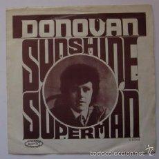 Discos de vinilo: DONOVAN - SUNSHIDE SUPERMAN. Lote 57972843