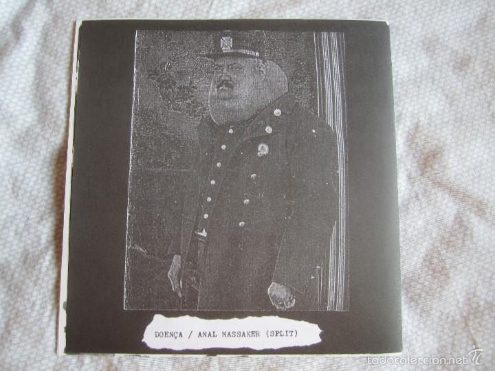 Discos de vinilo: ANAL MASSAKER / DOENÇA - SPLIT 7 EP - GRINDCORE - Foto 2 - 57976395